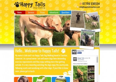 Happy Tails Dog Walking