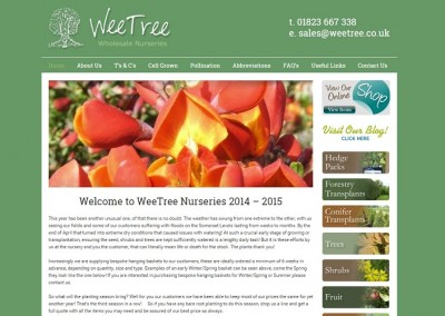 Wee Tree Wholesale Nurseries