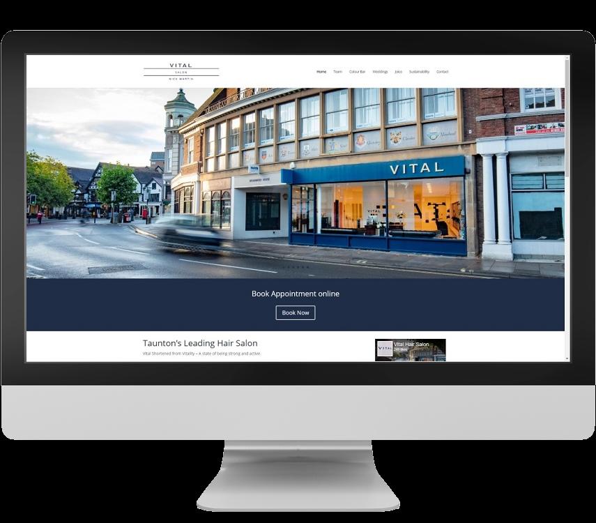 website designers Taunton